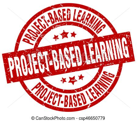 project-based-learning-round-red-grunge-image_csp46650779
